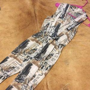 American Apparel Chiffon XS-Small jumpsuit